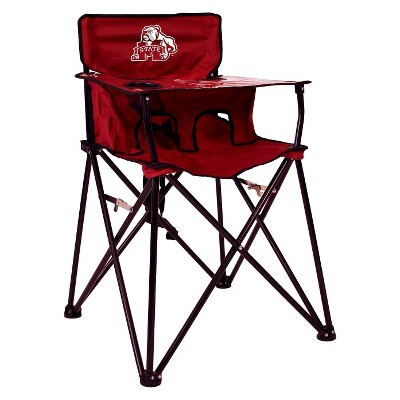 ciao! baby® Mississippi State Bulldogs Portable High Chair in Maroon