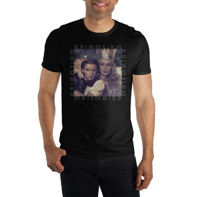 The Wizard of Oz Dorothy & Glinda Crew Neck Short-Sleeve T-Shirt