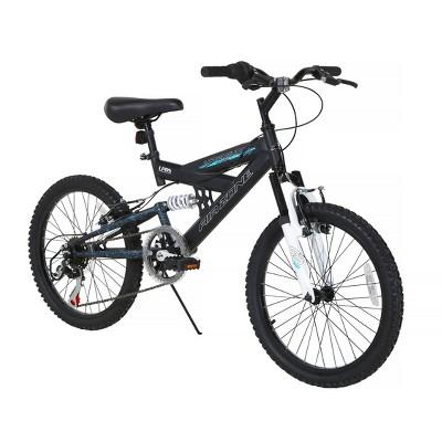 """Dynacraft Air Zone 20"""" Aftershock Kids' Mountain Bike - Black/Maroon"""