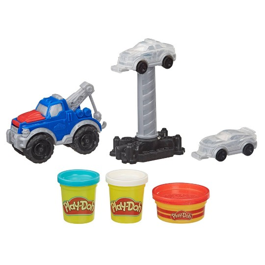 Playdoh Wheels Tow Truck, Modeling Dough image number null