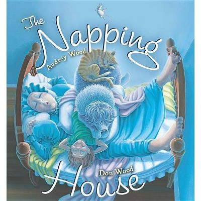 The Napping House Board Book - by Audrey Wood