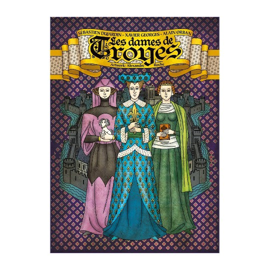 Pearl Games Troyes: The Ladies of Troyes Expansion image number null