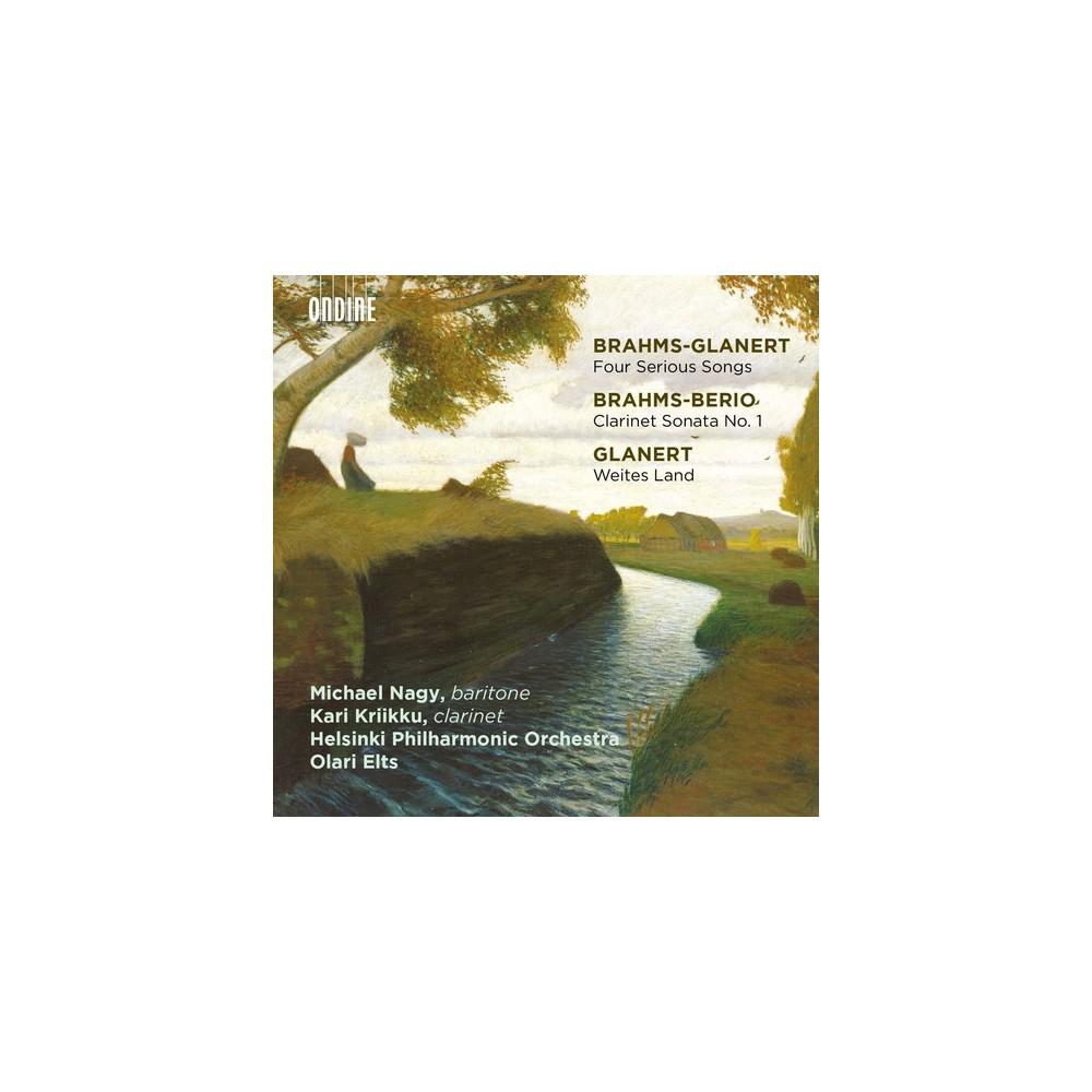 Helsinki Philharmoni - 4 Serious Songs/Clarinet Son No 1/Wei (CD)