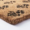 "1'6""x2'6"" Block Print Coir Doormat Natural - Threshold™ designed with Studio McGee - image 3 of 4"