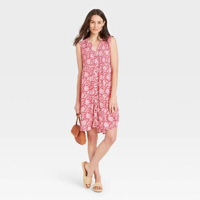 Women's Sleeveless Smocked Dress - Knox Rose™