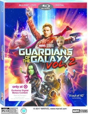 Guardians Of The Galaxy: Volume 2 Target Exclusive (Blu-ray + DVD + Digital)