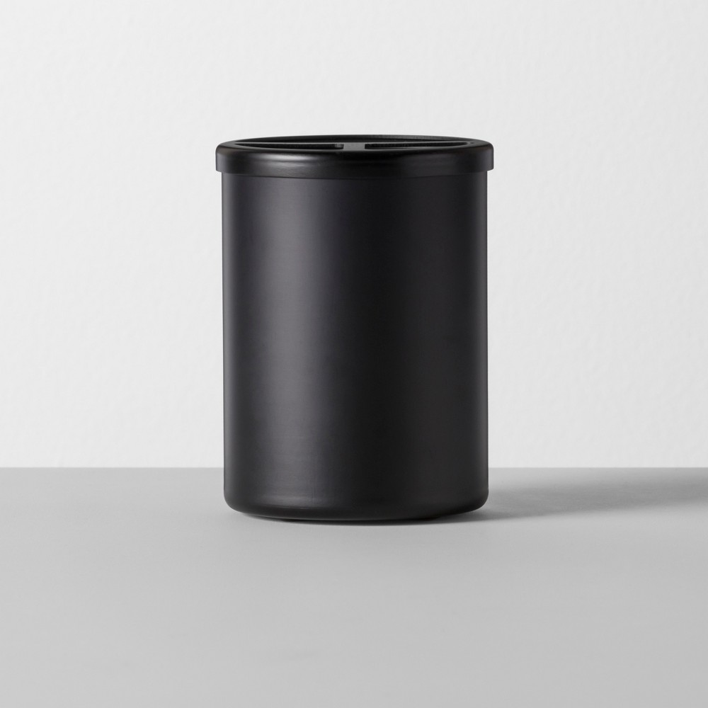 Solid Toothbrush Holder Aluminum Black - Made By Design