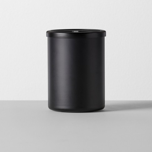 Solid Toothbrush Holder Aluminum Black - Made By Design™ - image 1 of 3