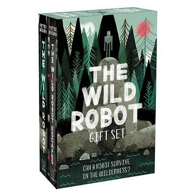 The Wild Robot Hardcover Gift Set - by  Peter Brown