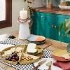 """6"""" 4pk Stoneware Two-Tone Appetizer Plates - Opalhouse™ designed with Jungalow™ - image 2 of 4"""