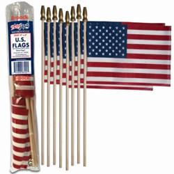 "4""x6"" 8pc Stick Flags"