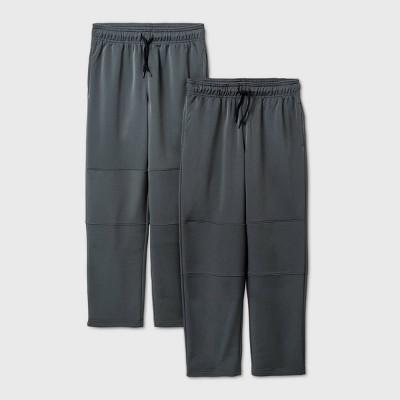 Boys' 2pk Activewear Pants - Cat & Jack™ Gray