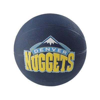 "NBA Spalding Denver Nuggets Mini 3"" Rubber Basketball"