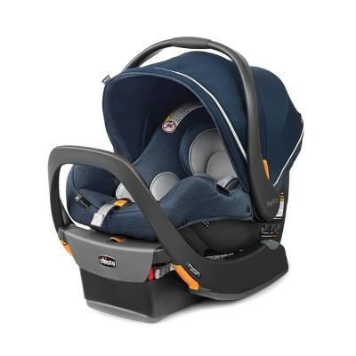 Chicco KeyFit 35 Zip ClearTex FR Chemical Free Infant Car Seat-Reef