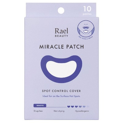 Rael Beauty Miracle Acne Patch Spot Control Cover - 10ct