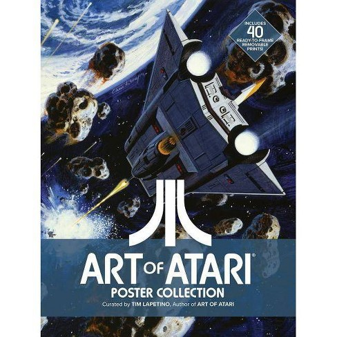 Art of Atari Poster Collection - by  None (Paperback) - image 1 of 1