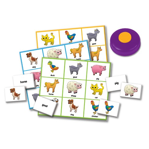 The Learning Journey Match It! - Listen & Play Bingo - Farm Game - image 1 of 1