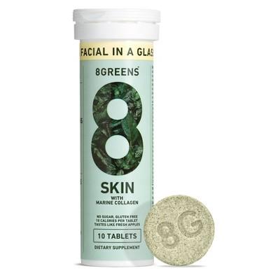 8Greens Skin Dietary Supplement - 10ct