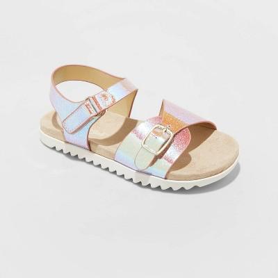 Toddler Girls' Shaelyn Molded Footbed Sandals - Cat & Jack™