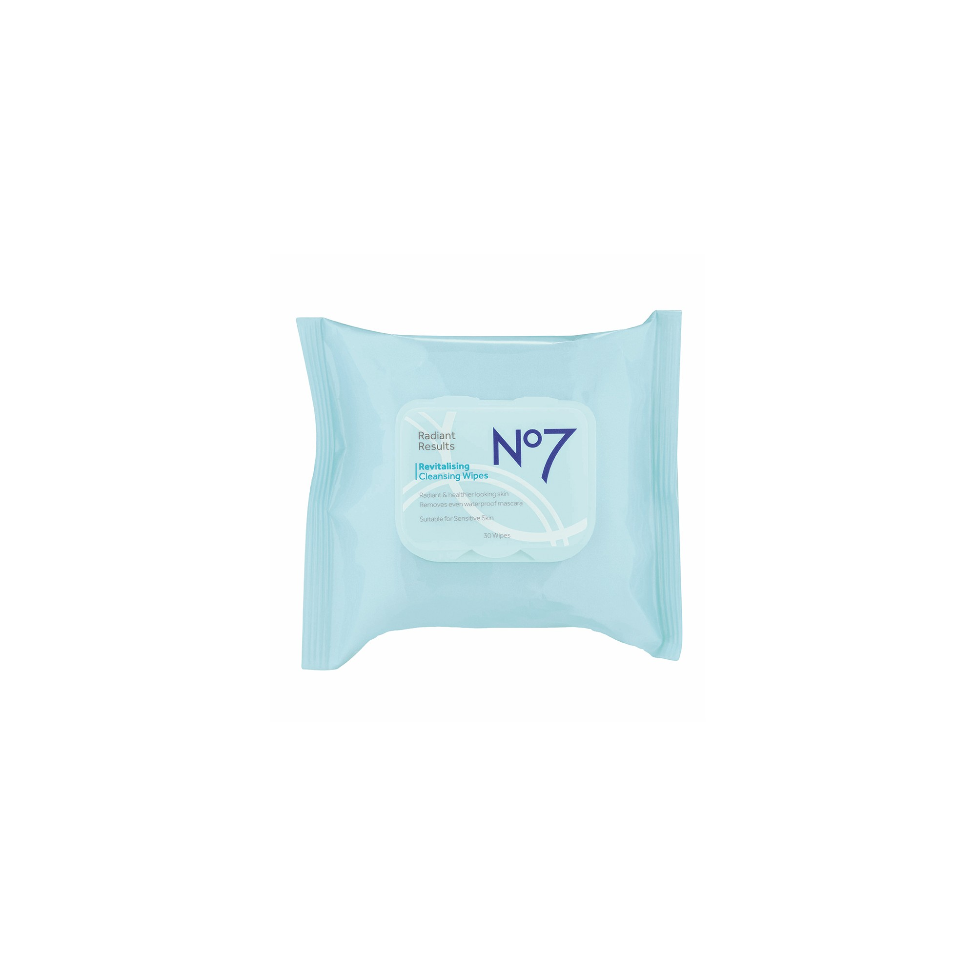 No7 Radiant Results Revitalising Cleansing Wipes - 30ct
