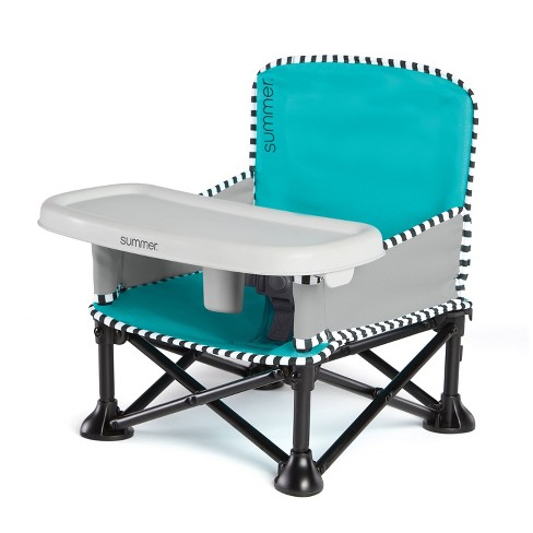 Summer Infant Pop 'n Sit Sweet Life Edition Booster - Travel Booster and Chair - image 1 of 12
