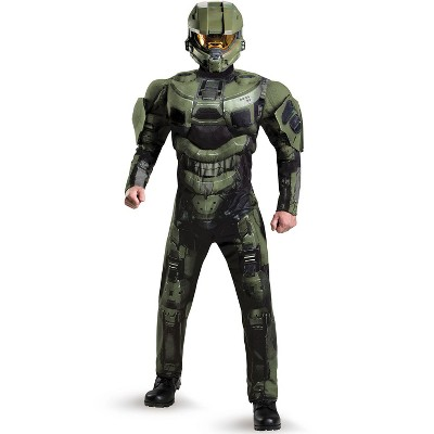 HALO Master Chief Deluxe Muscle Adult Costume