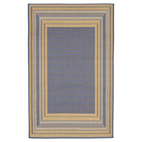Liora Manne Terrace Etched Border Indoor/Outdoor Woven Rug - image 1 of 3
