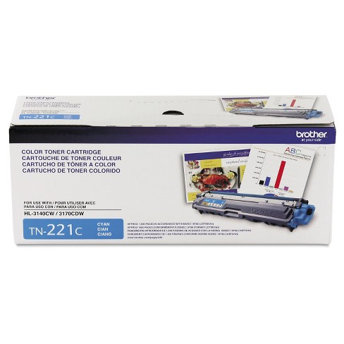 Brother TN221C Toner Cartridge - Cyan (BRTTN221C) - image 1 of 1