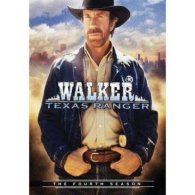 Walker, Texas Ranger: The Fourth Season (DVD)(2008)