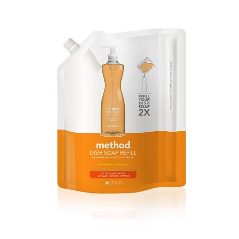 Method Clementine Dish Soap Refill - 36oz - image 1 of 3