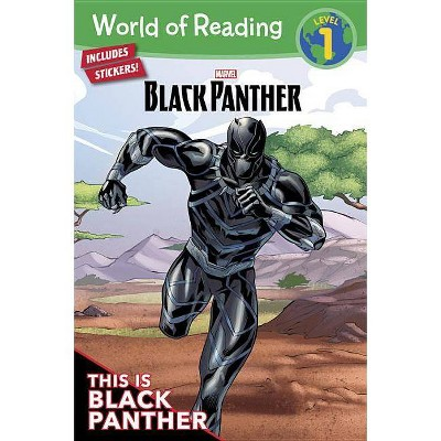 This Is Black Panther -  (World of Reading) by Andy Schmidt (Paperback)