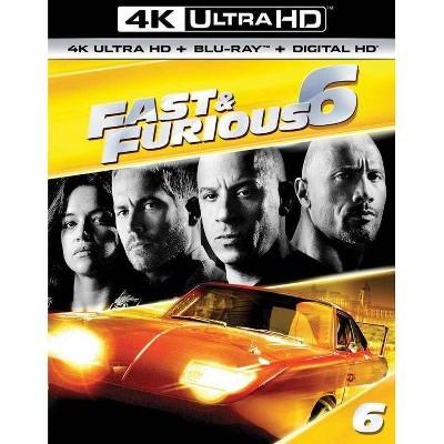 Fast & Furious 6 (4K/UHD + Blu-ray + Digital)