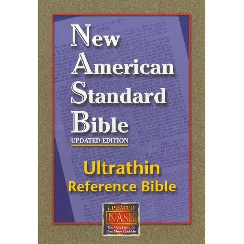 Ultrathin Reference Bible-NASB - (Leather_bound) - image 1 of 1