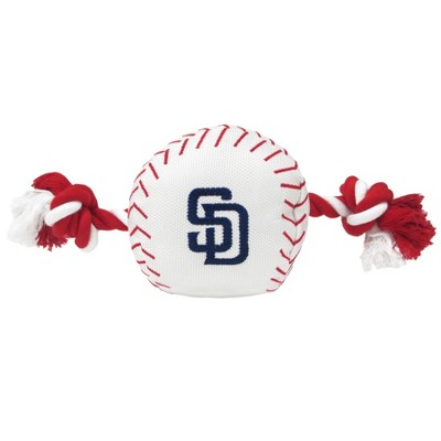 San Diego Padres Nylon Pets First Baseball Rope Dog Toy