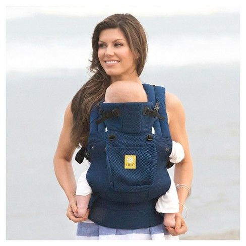 21a06e5efa8 LILLEbaby 6-Position COMPLETE Airflow Baby   Child Carrier - Navy   Target