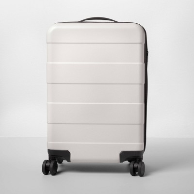 "Hardside 20"" Carry On Spinner Suitcase Tan - Made By Design™"