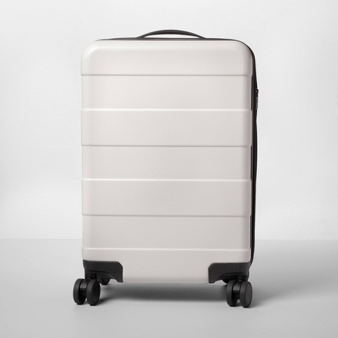 Hardside Carry On Spinner Suitcase Tan - Made By Design™ - image 1 of 4