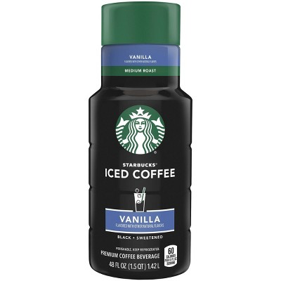 Starbucks Vanilla Iced Coffee - 48 fl oz