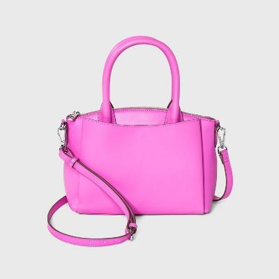 Small Dome Satchel Handbag - A New Day™