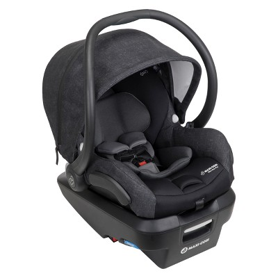 Maxi-Cosi Mico Max Plus Infant Car Seat with Base, Nomad Black