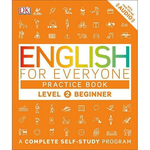 English for Everyone: Level 2: Beginner, Practice Book - (Paperback) - image 1 of 1