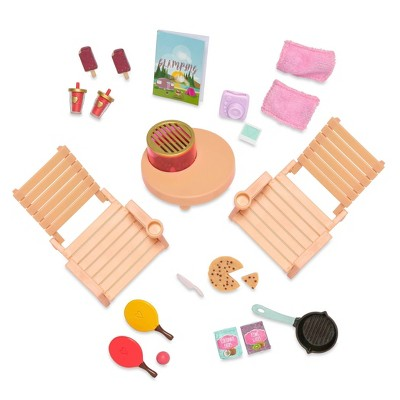 Lori Doll Travel Accessories with Play Food - Roadside Refreshments