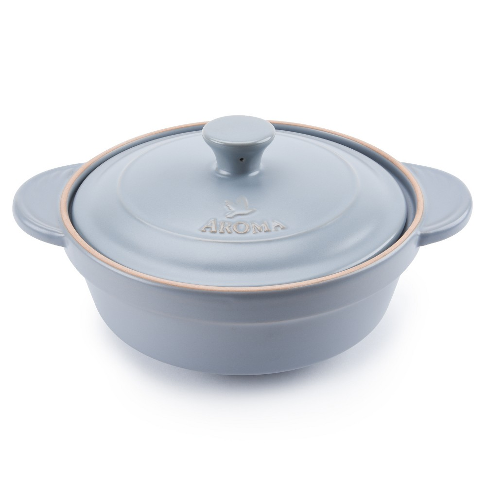 Image of Doveware 2.5qt Ceramic Stewpot Gray