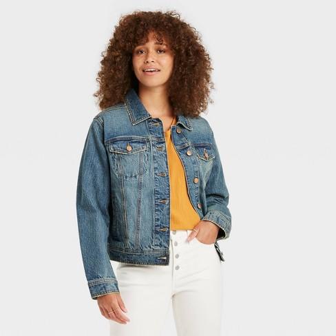 Women's Denim Jacket - Universal Thread™ - image 1 of 3