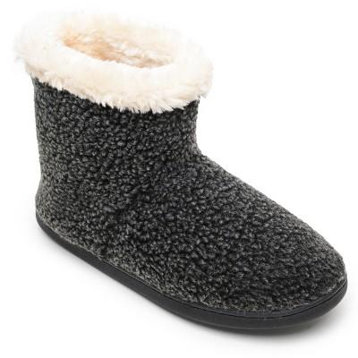 Minnetonka Women's Textile Betty  Bootie Slippers