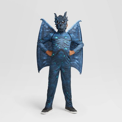 Kids' Light Up Zombie Dragon Halloween Costume Jumpsuit with Accessories - Hyde & EEK! Boutique™