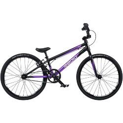 "Radio Xenon Junior BMX Race Bike - 18.5"" TT, Black/Metallic Purple"