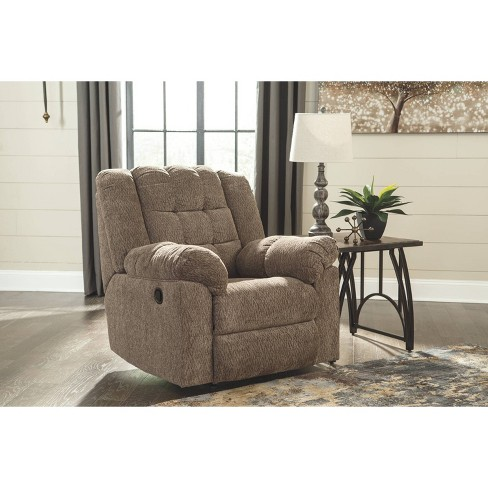 Workhorse Recliner Cocoa - Signature Design by Ashley