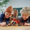 LEGO Harry Potter Attack on the Burrow Weasley's Family Dollhouse Building Toy for Kids 75980 - image 3 of 4