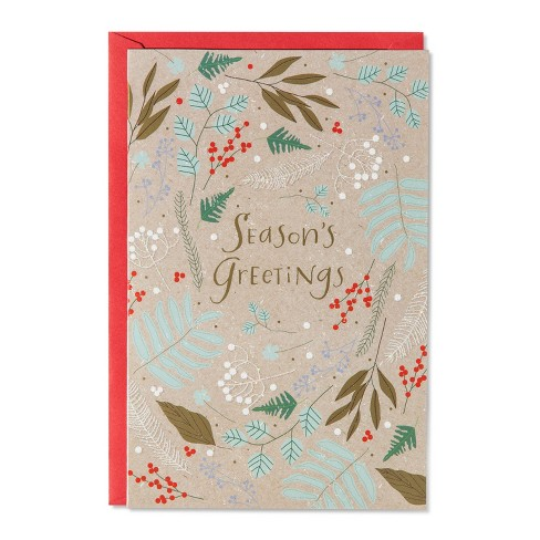 American Greetings 14ct Season Greetings Holiday Boxed Cards - image 1 of 1
